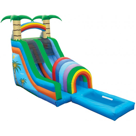 funnel-tunnel-water-slide-with-pool-
