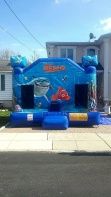 Finding Nemo Bounce House 15'x15'